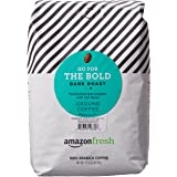 AmazonFresh Go For The Bold Ground Coffee, Dark Roast, 32 Ounce (Pack of 1)
