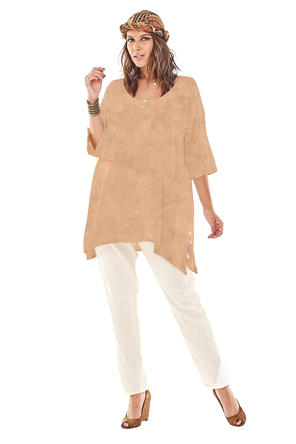 Oh My Gauze Womens Marcy Blouse