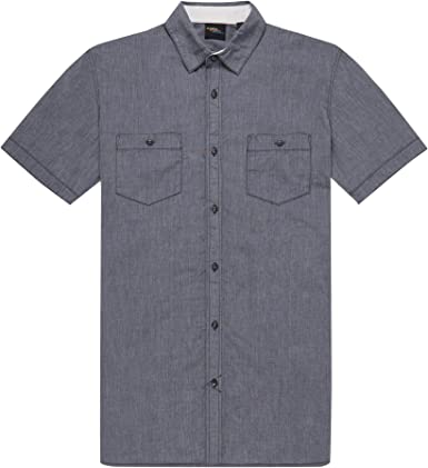 ONEILL LM Cut Back Short Sleeve Camisas/Blusas, Hombre, Asfalto, Large: Amazon.es: Ropa y accesorios