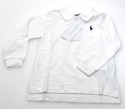 Ralph Lauren Camiseta Polo Blanco para Niño Bebé Art. I10 670CW ...