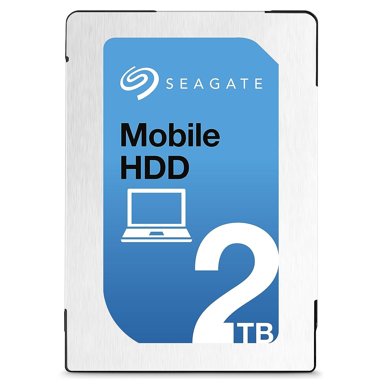 Seagate シーゲイト 内蔵ハードディスク Mobile HDD 1TB ( 2.5 インチ / SATA 6Gb/s / 5400rpm / 128MB / 2年保証 ) 正規輸入品 ST1000LM035 B01COX45GA  2TB 2TB