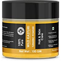 100% Pure wild kasturi turmeric powder for Skin & Face - 100 GM by Holy Natural