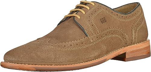 Gordon & Bros Zapatos de Cordones de Piel Para Hombre, Color Marrón, Talla 43