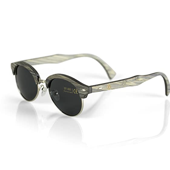viable harvest womens wood sunglasses designer frames with polarized lenses and wooden gift box - Wood Frames Glasses