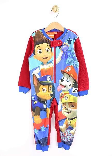 Pijama pelele Patrulla Canina Paw Patrol ROJO TAlla 4
