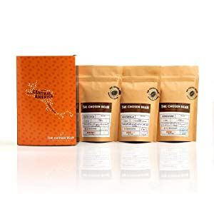 The Chosen Bean Try Me Series Premium Choice Pack of Central American Coffee Includes 3 Verities Organic Small Batch Roasted
