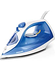 Philips EasySpeed Plus Steam Iron 2100W with Non-Stick Soleplate, 2100W, 110g Steam Boost, Blue, GC2143/29