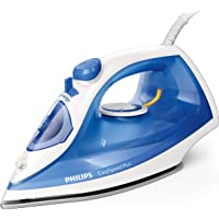 Philips EasySpeed Plus Steam Iron with Non-Stick Soleplate & 110g Steam Boost, Blue, GC2143/29