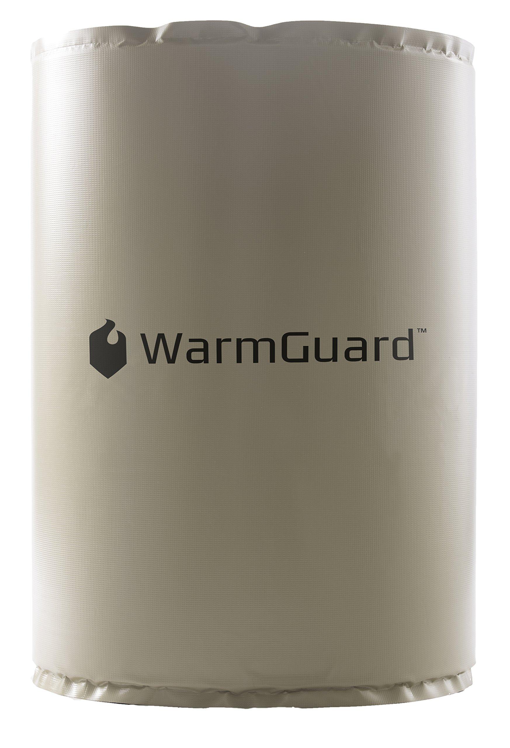 WarmGuard WG55F Insulated Full Coverage Drum Heating Blanket - Barrel Heater, Fixed Internal Thermostat Max Temp 145 F