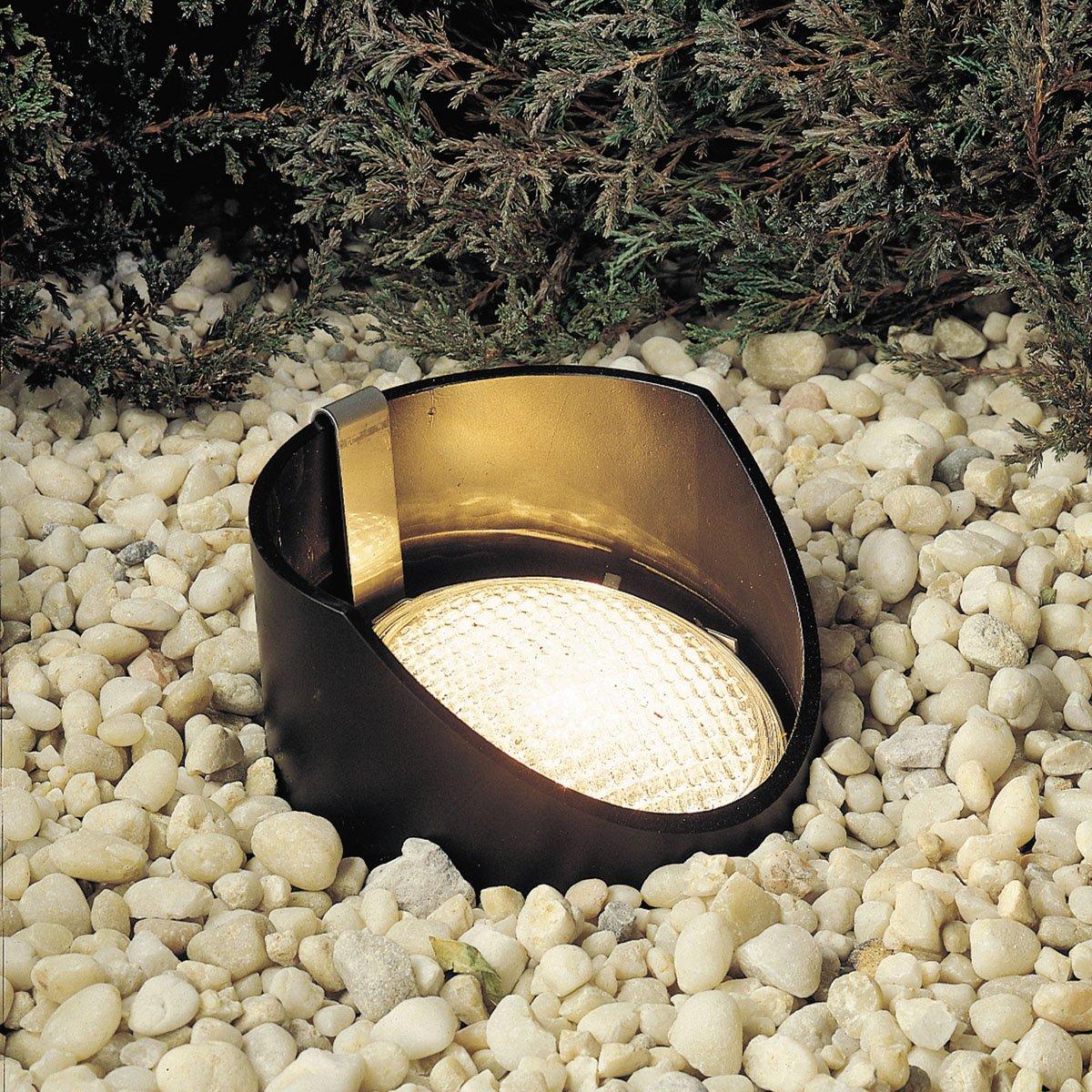 Superior Kichler 15088BK One Light In Ground   Landscape In Ground Lights    Amazon.com