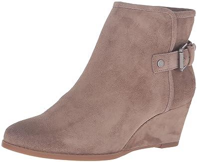 Franco Sarto Women's Wichita Ankle Bootie, Taupe, ...