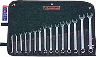 product image for Wright Tool 752 12 Point Metric Combination Wrench Set, 7mm - 22mm (15-Piece)