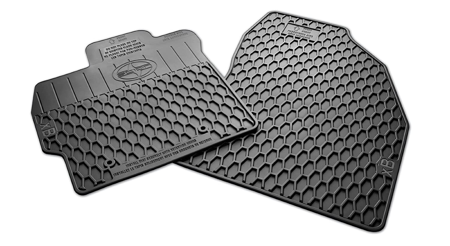 2014 scion xb weathertech floor mats - Amazon Com All Weather Floor Mat Scion Xb 2009 2012 Genuine Scion New Automotive
