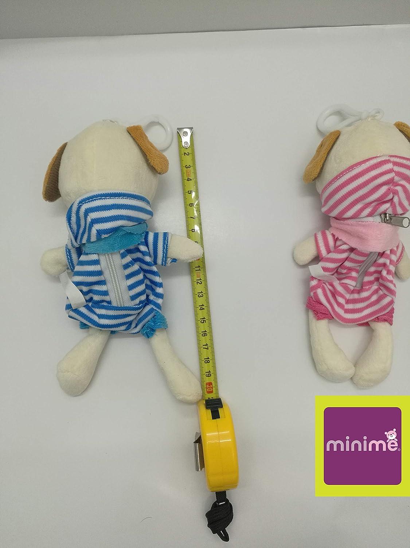 Blue//Pink 20 Piece MiniMe M5307 6 Inches Boy Girl Couple 3D Plush Dolls