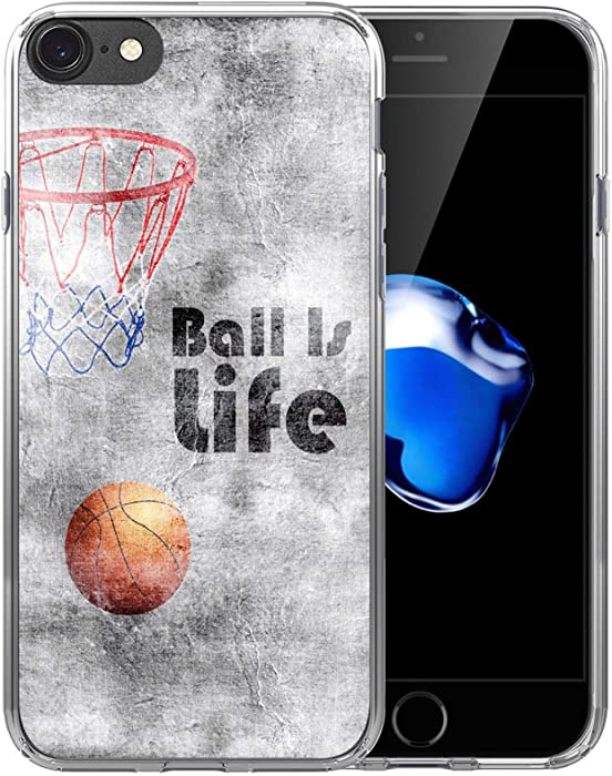 The Best Apple Iphone 7 Case Transparent Basketball