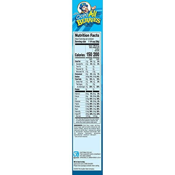 Cap N Crunch S Oops All Berries 11 5oz Amazon Com Showing relevant, targeted ads on and off etsy. cap n crunch s oops all berries 11 5oz
