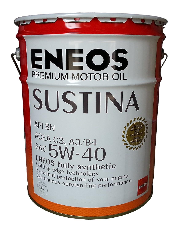 エネオス プレミアムオイル サスティナ 5W-40 20L ENEOS SUSTINA B00O3TD8J4