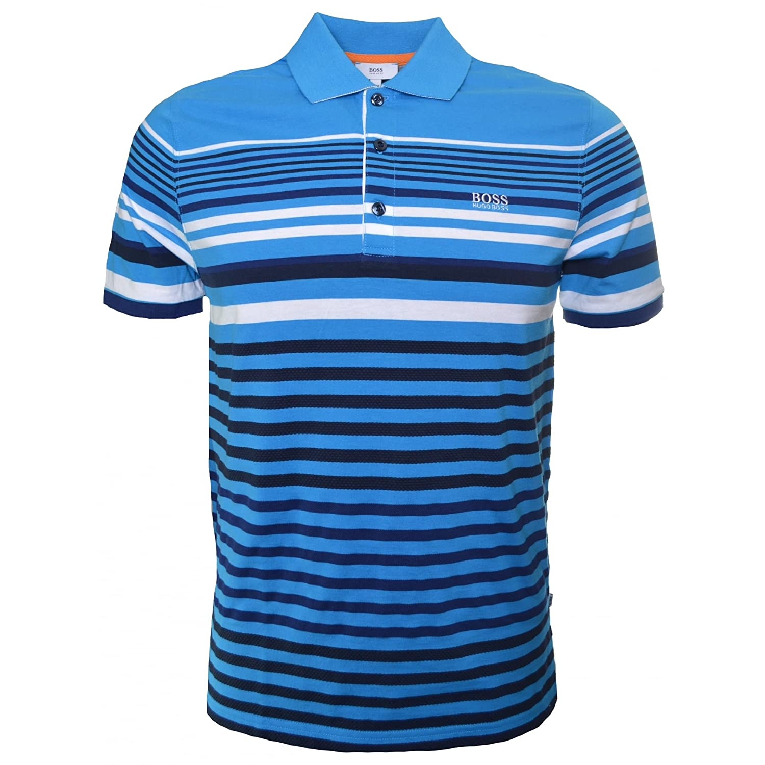 54d008e2 Hugo Boss Kids Blue Striped Polo Shirt 6 Years/114CM: Amazon.ca: Clothing &  Accessories