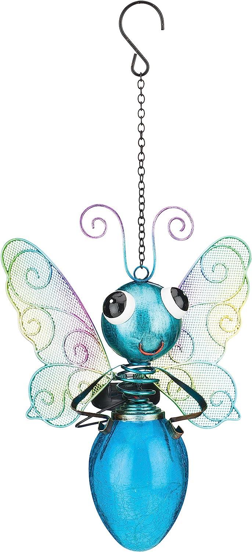 Regal Art & Gift Solar Butterfly Lantern - Blue