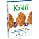 Kashi Heart to Heart, Oat Flakes and Wild Blueberry Clusters Cereal, 13.4 Oz