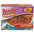 Ready Meals, Beef Cholent with Potato Kugel and Kishka – Dairy Free - No Preservatives - Glatt Kosher (12 ounce - Pack of 12)