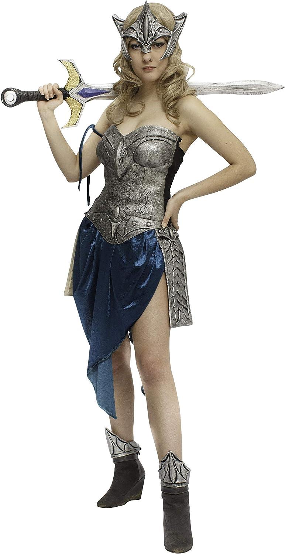 Disfraz de Valkiria guerrera para mujer: Amazon.es: Juguetes y juegos