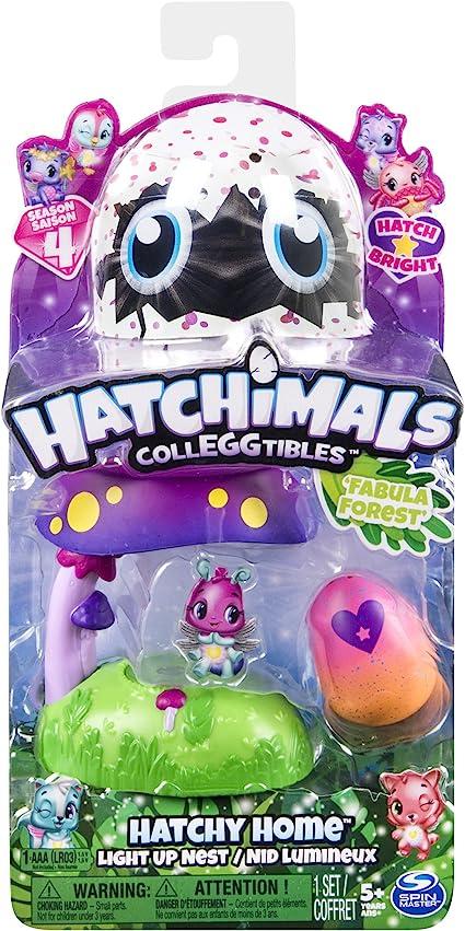 Hatchimals Fabula Forest With Two Bonus Season 4 Collegtible Figures 5+ Years