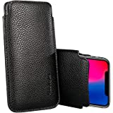 Apple iPhone XR/iPhone 11 Sleeve, Modos Logicos Synthetic Leather Protective Sleeve Pouch Case for iPhone XR/iPhone 11 6…
