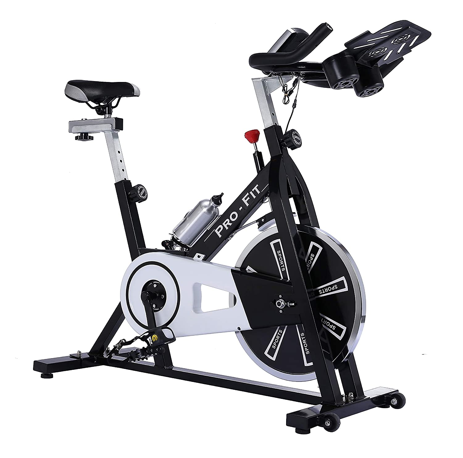 Indoor Cycling Home Exercise Bike 13kg Smooth Belt Driven Flywheel