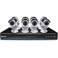 Swann CONV16-C3MP8C-US 16 Channel HD 3TB Security System 8 x 3MP Surveillance cameras
