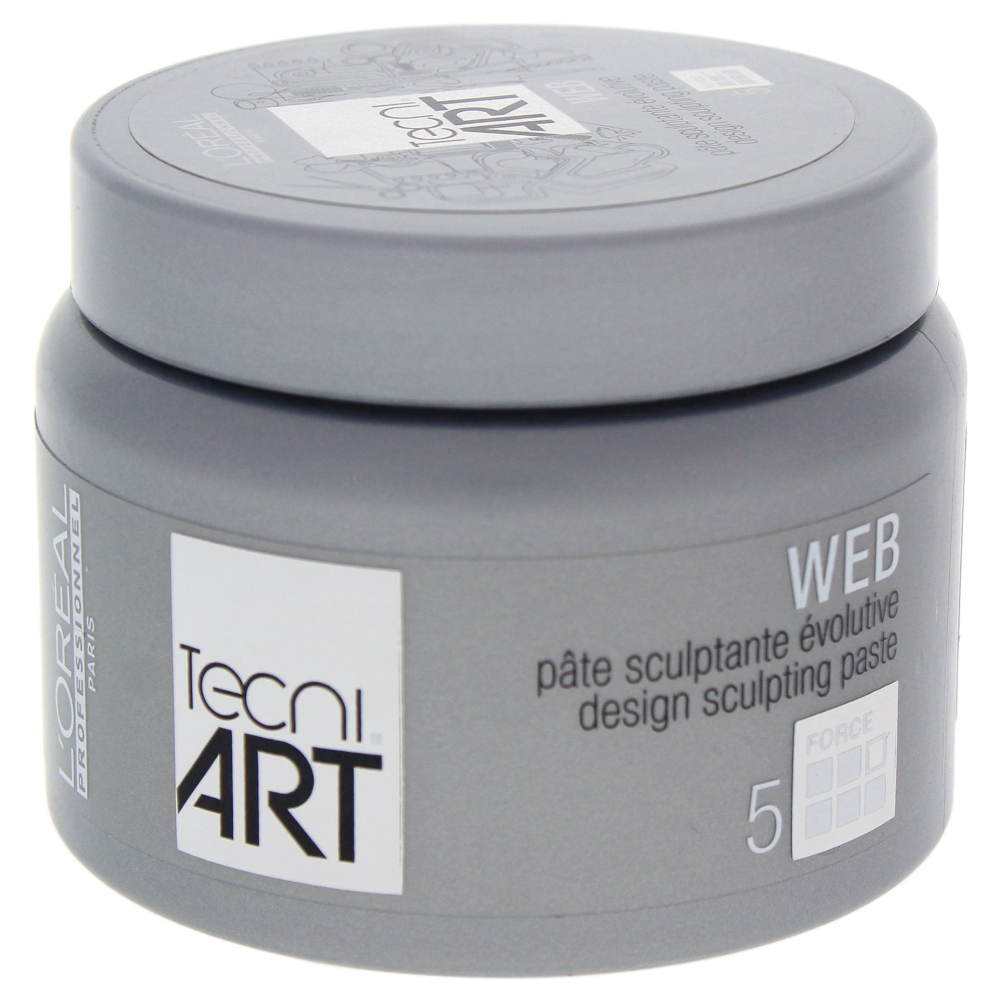 LOreal Professional Tecni Art force 5 Web Design Sculpting Paste, 5 Ounce