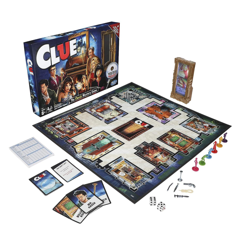Amazon.com: Clue - Juego de mesa, Estándar, N/A: Toys & Games