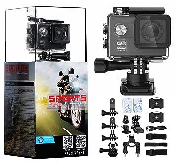 odowalker deporte cámara de acción Ultra HD videocámara w/Sony Sensor 16 MP WiFi impermeable