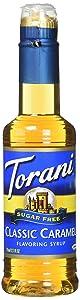 Torani Sugar Free Classic Caramel Syrup 12.7 oz