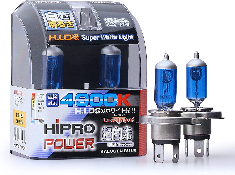 55w Super White Xenon HID Upgrade High Main Full Beam Headlight Bulbs