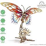 Ugears Butterfly バタフライ 木製 ブロック DIY パズル 組立 想像力 創造力 おもちゃ…
