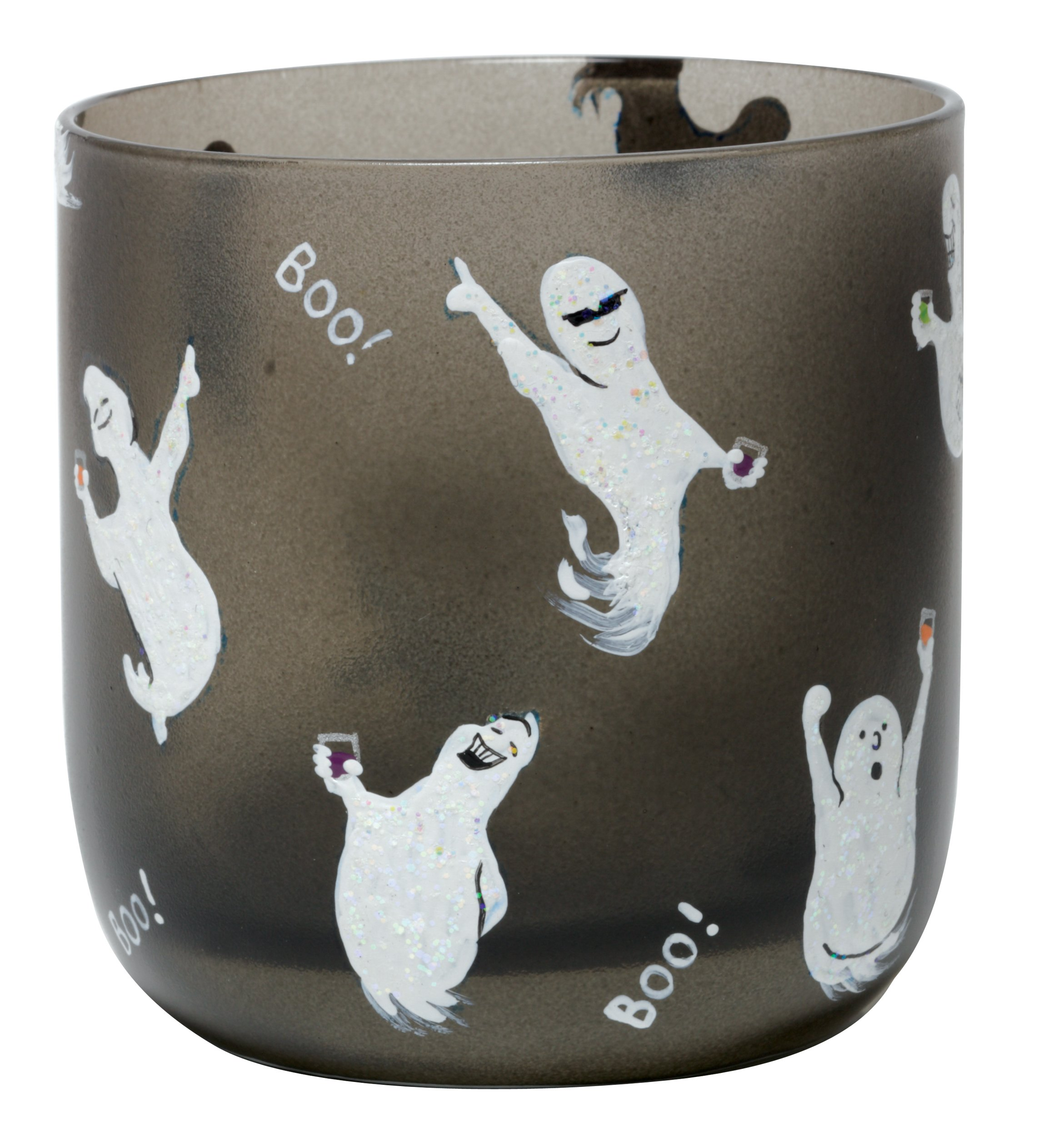 Lolita Hand-Painted Rocks Glass, Ghost Party