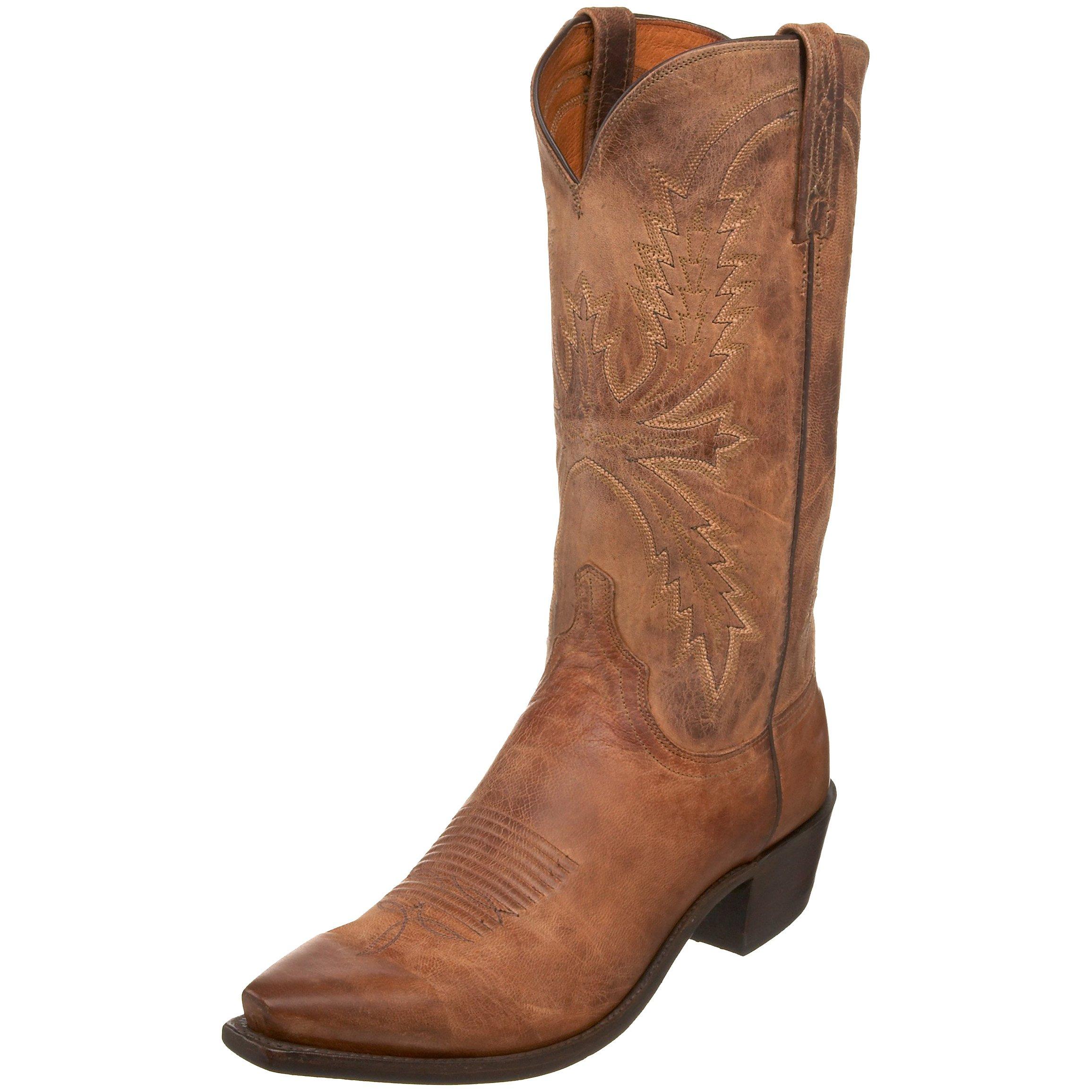 1883 by Lucchese Men's N1547.54 Western Boot,Tan,12 EE US