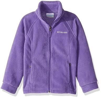 09406a897326d Columbia Girl's Toddler Benton Springs Fleece Jacket: Amazon.co.uk: Clothing