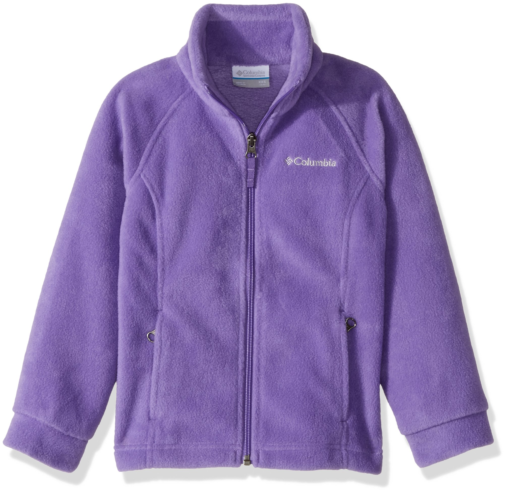 Columbia Toddler Girls'' Steens MT II Fleece, Grape Gum, 3T