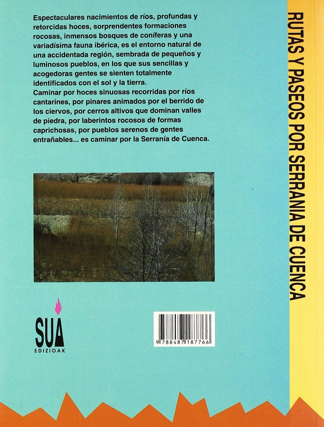 Serrania de Cuenca rutas y paseos: Amazon.es: Monge, A ...