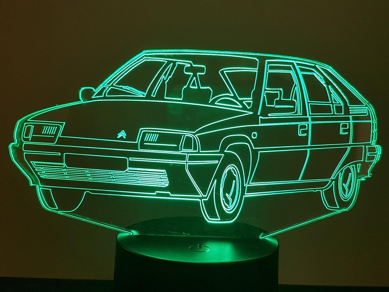 Lampe 3D Motif: Citroën BX
