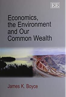 the political economy of the environment boyce james k
