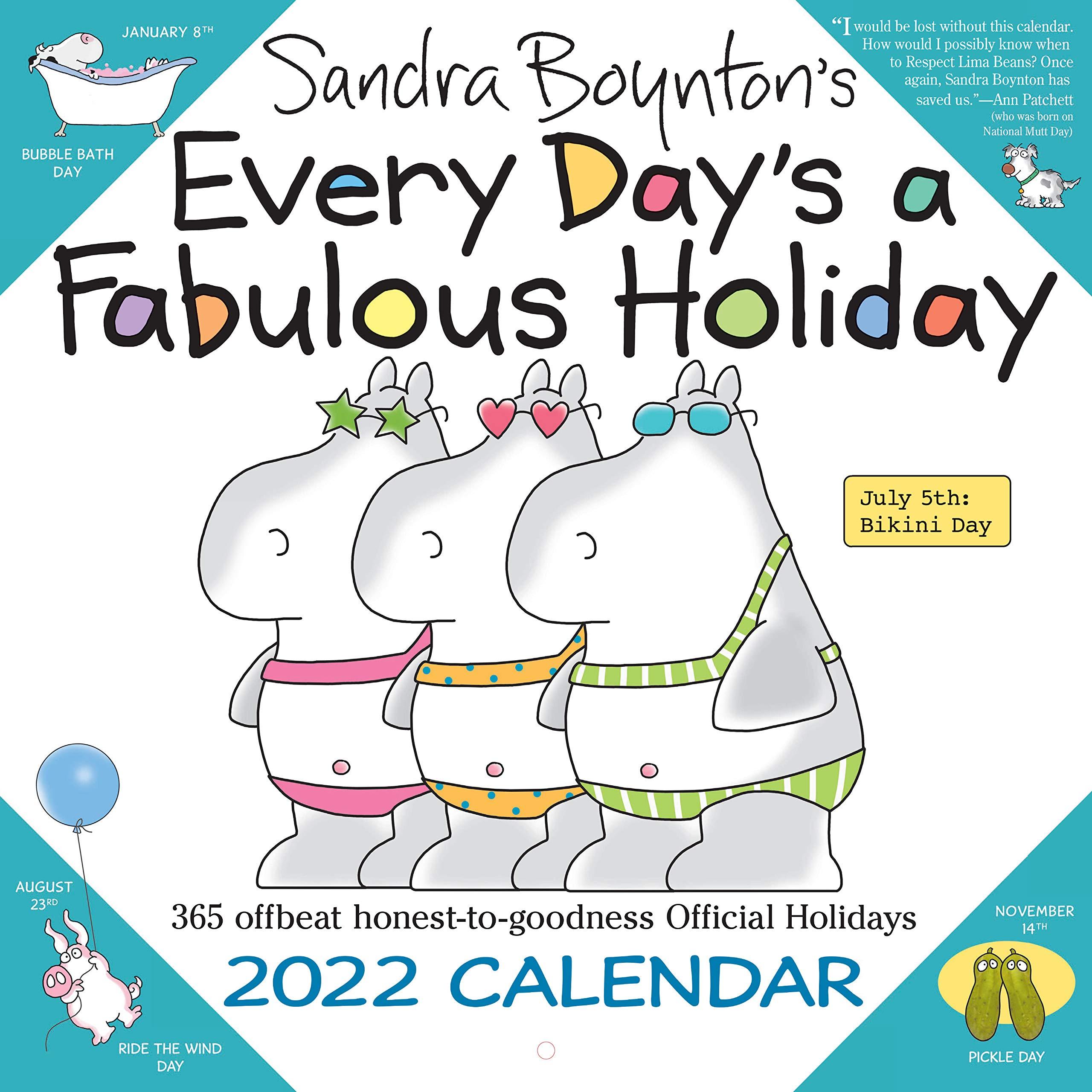 National Day Calendar 2022.