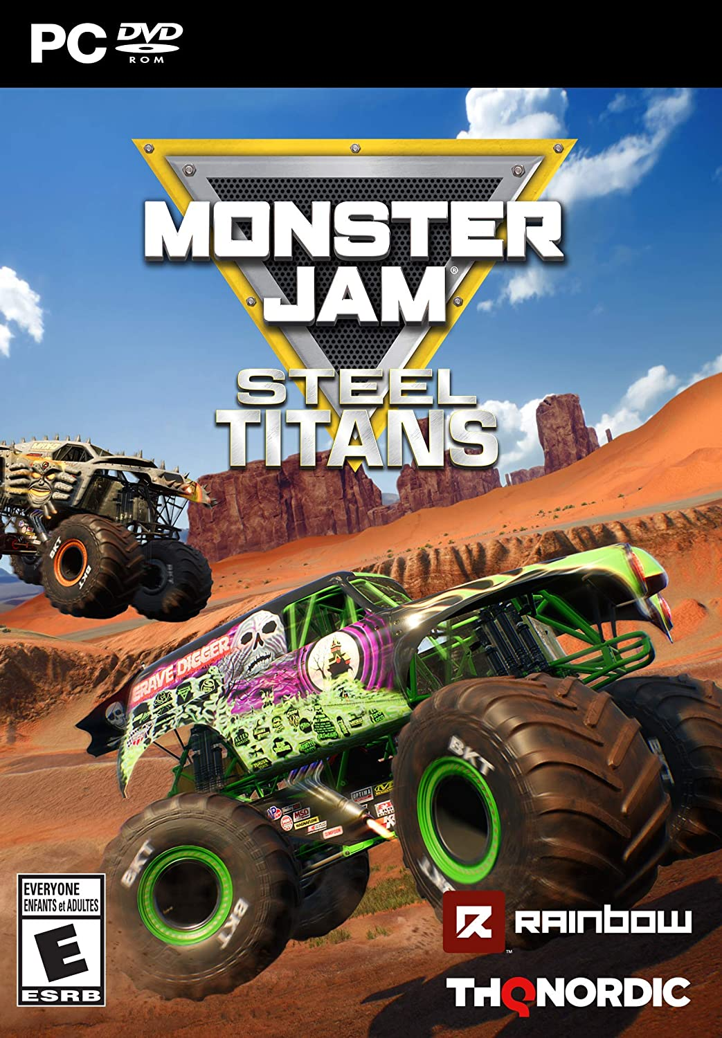 Amazon Com Monster Jam Steel Titans Pc Standard Edition Video Games