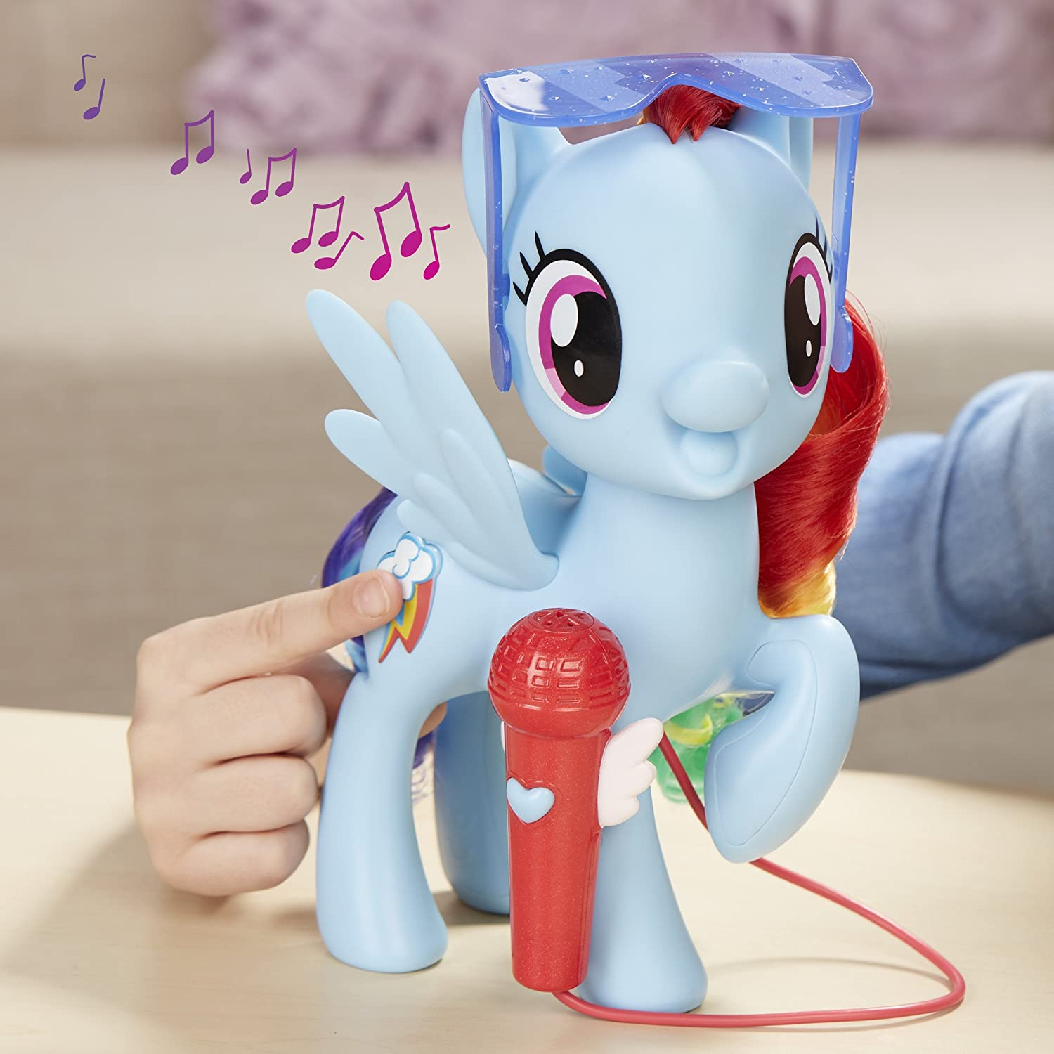 My Little Pony Singing Rainbow Dash Kids Girl Interactive Fun Play Toy Best Gift