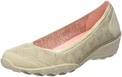 Skechers Savvy-Play The Game, Ballerines Bout Fermé Femme, (Natural), 39 EU