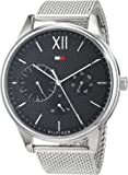 Tommy Hilfiger Mens Multi dial Quartz Watch with Stainless Steel Strap 1791415
