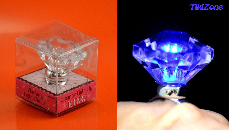 Amazon.com : Giant Novelty Engagement Ring   Wedding Bling! : Wedding  Ceremony Accessories : Everything Else