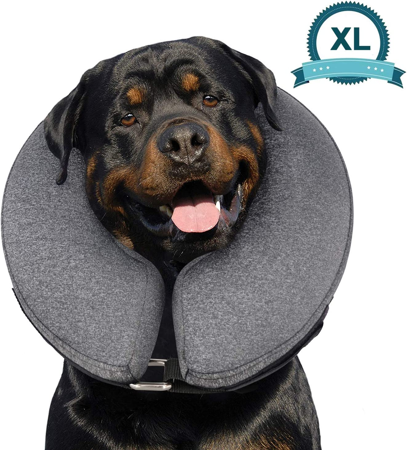 Inflatable dog cones